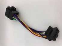 Kenwood autoradio ISO kabel oud type