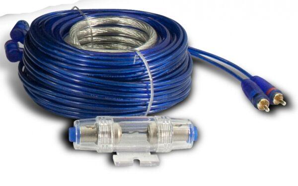 Versterker inbouw kabelset 6mm2 Universeel